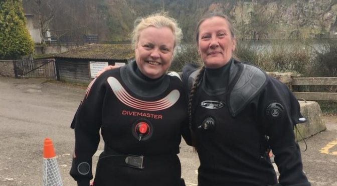 My introduction to diving in the UK